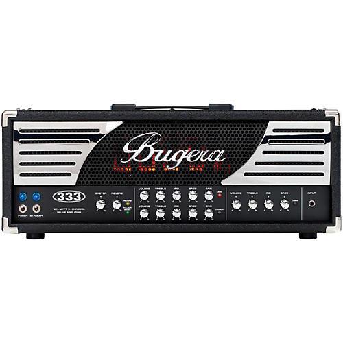 Bugera 333 120W 3-Channel Tube Guitar Amp Head-thumbnail