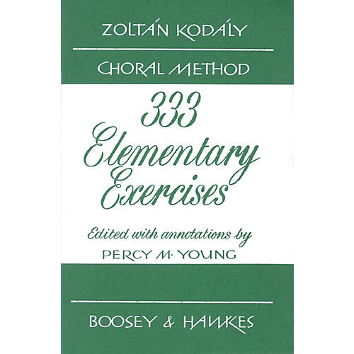 Boosey and Hawkes 333 Elementary Exercises - Zolt¡n Kod¡ly Choral Method-thumbnail