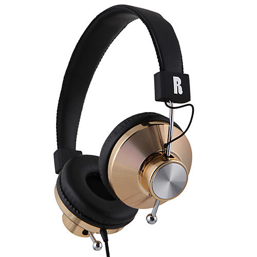 eskuche 33iG On-Ear Audio Headphone Gold