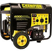 Champion Power Equipment 3500/ 4000 Watt Portable Gas-Powered Remote Start Generator