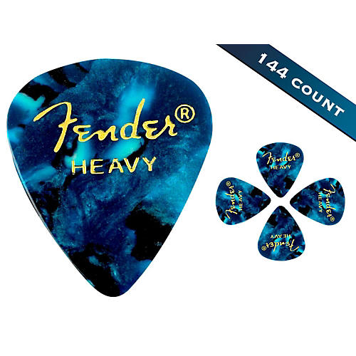 Fender 351 Premium Heavy Guitar Picks - 144 Count-thumbnail