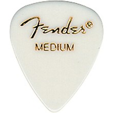 Fender 351 Standard Guitar Pick White