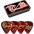 D'Andrea 351 Vintage Classic Celluloid Picks - Shell - 1 Dozen in Tin Container  Thumbnail