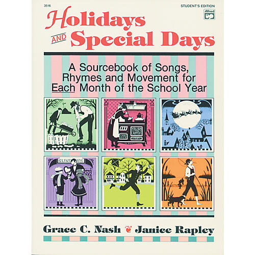 Alfred 3516 Sheet Mu Holidays and Special D Student E-thumbnail