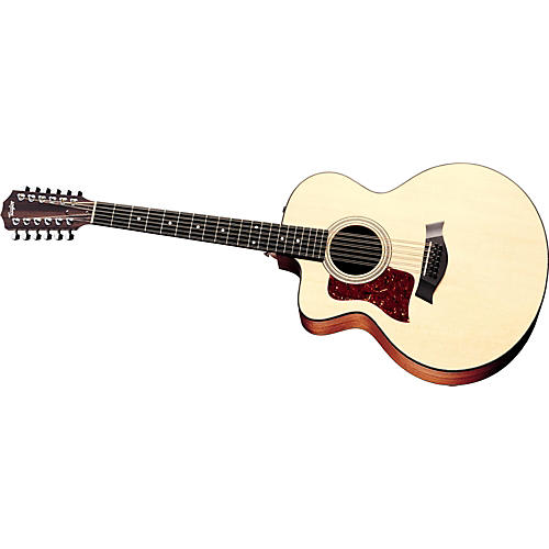 Taylor 355-CE Left-Handed 12-String Jumbo Acoustic-Electric Guitar Natural