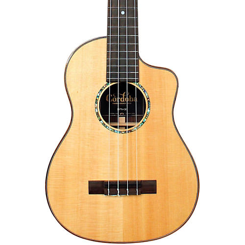 Cordoba 35TS-CE Tenor Acoustic-Electric Ukulele-thumbnail