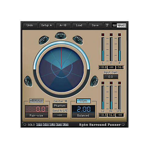 Waves 360 Deg Surround Tools Bundle Native/TDM/SG Software Download
