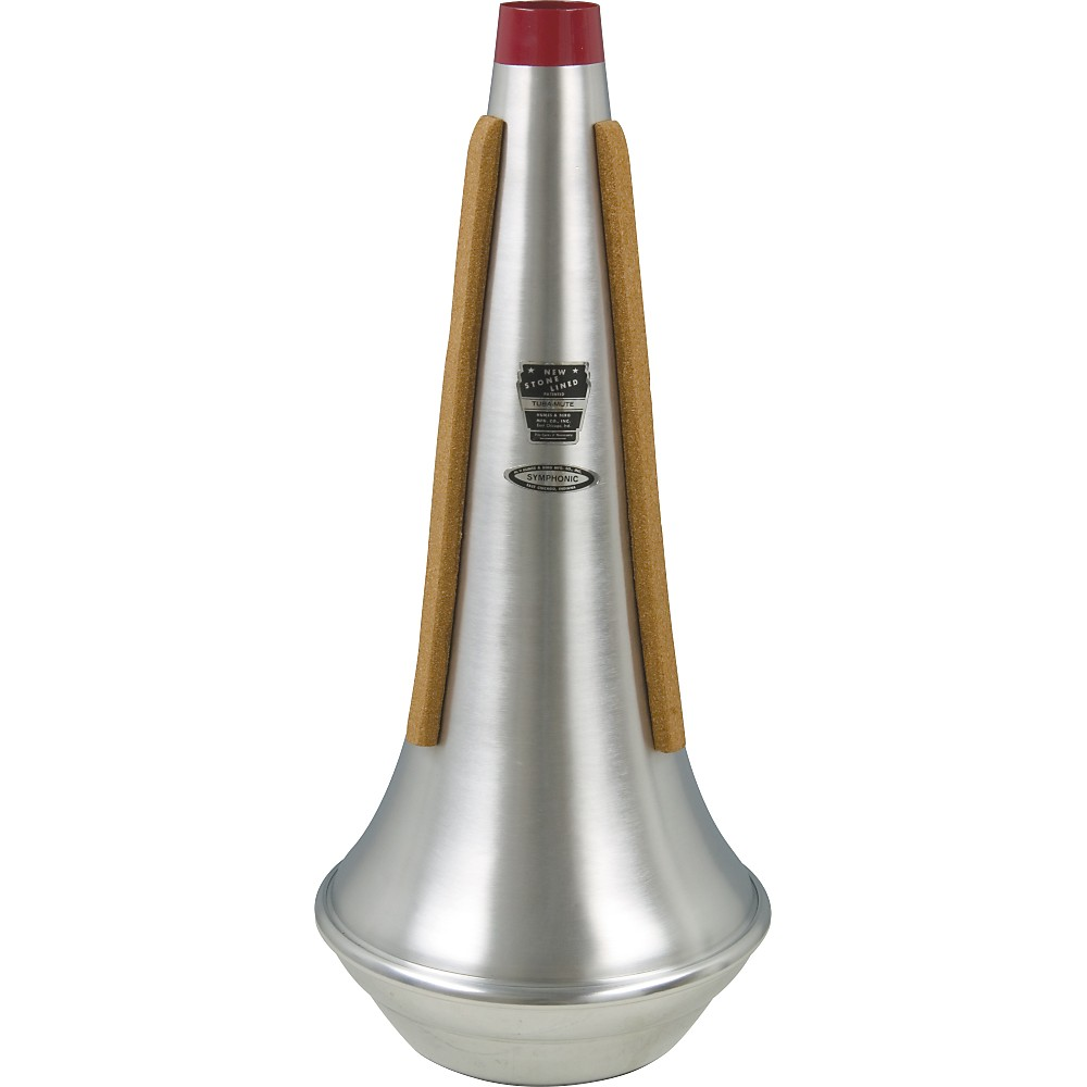 Humes & Berg 206 Stonelined Symphonic Tuba Straight Mute 1274115036121