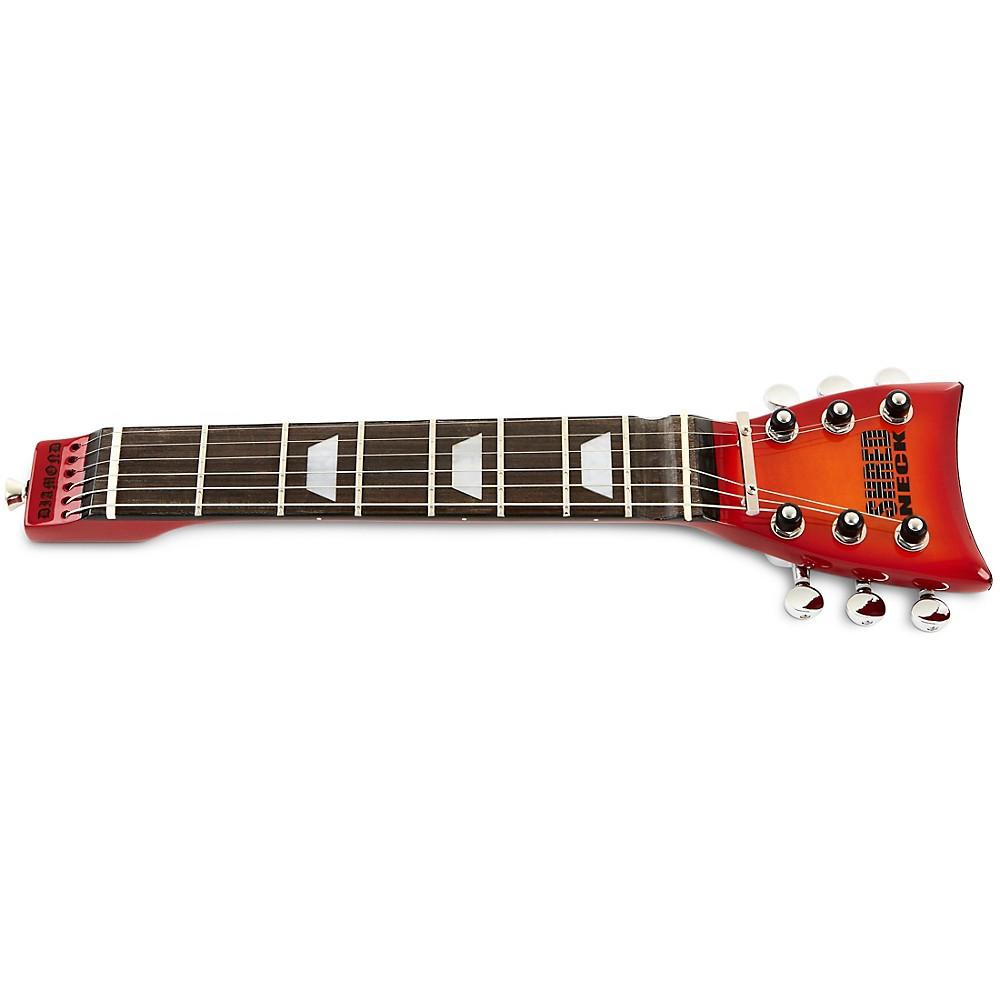 Shredneck Practice Guitar Neck Sunburst Flamed Maple