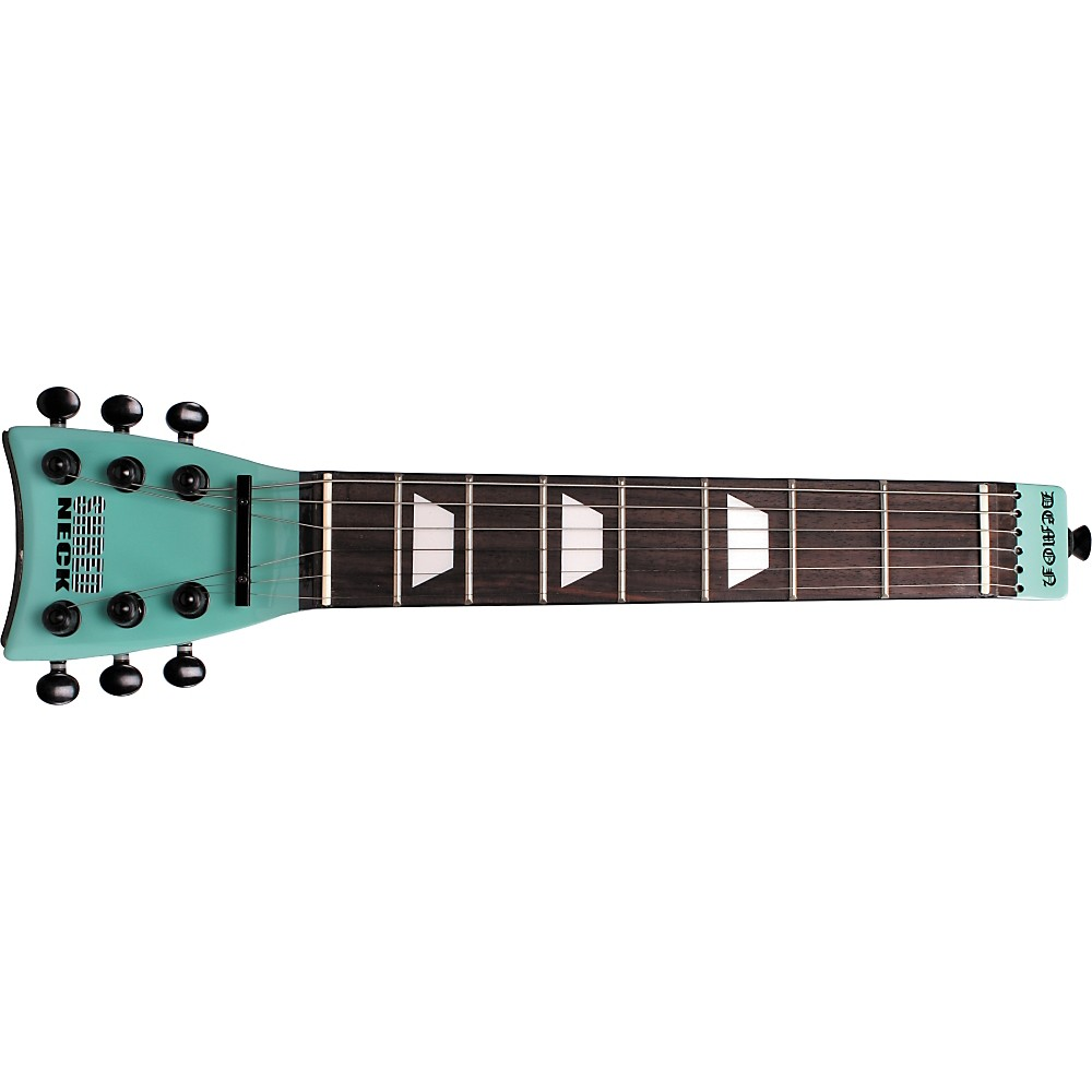 Shredneck Practice Guitar Neck Seafoam Green