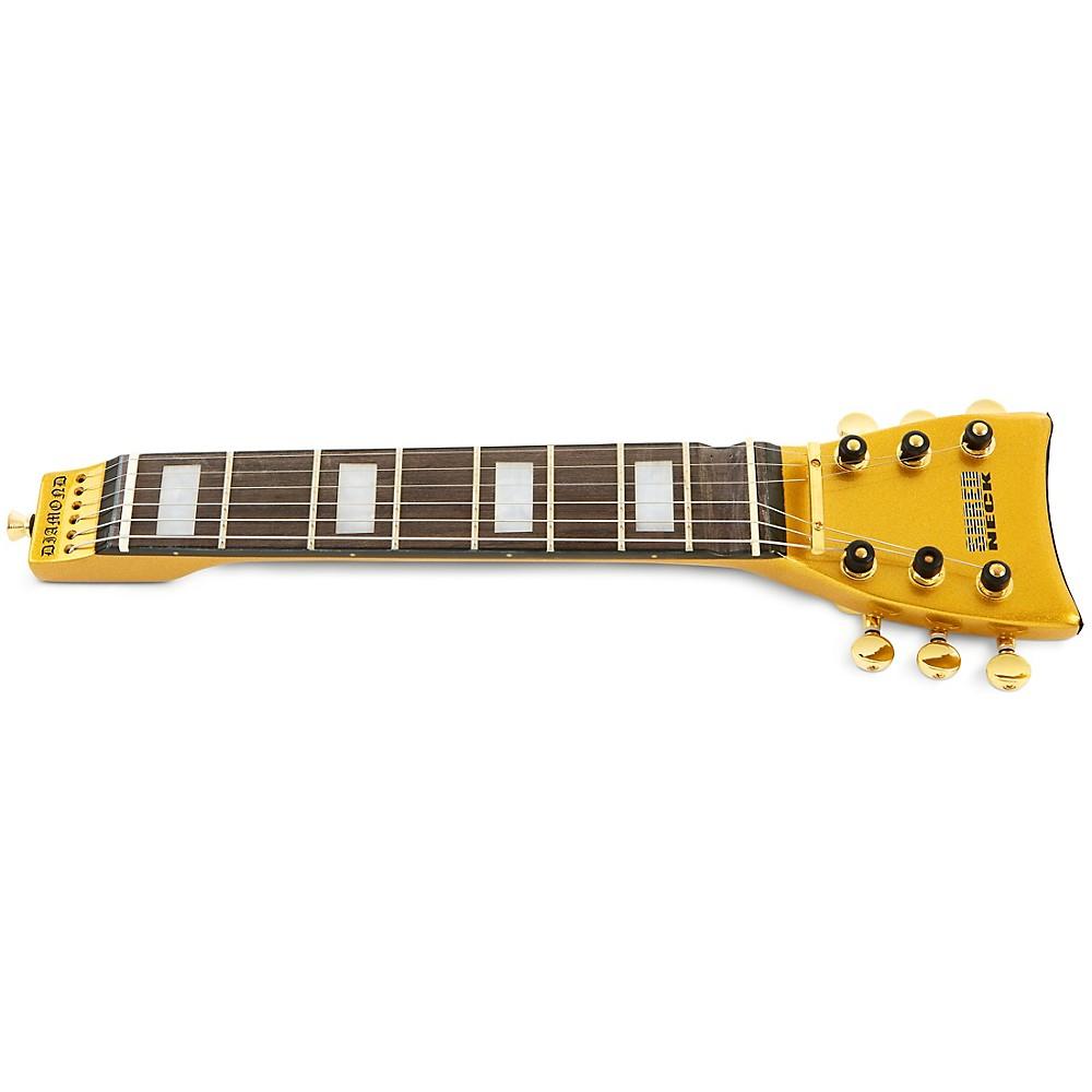 Shredneck Practice Guitar Neck Gold Metalflake