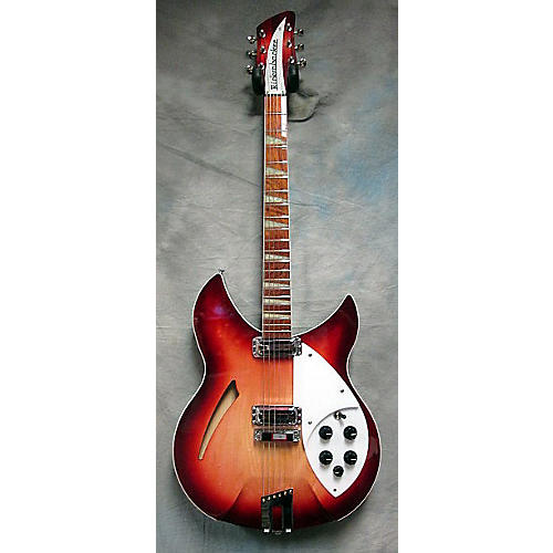 Rickenbacker 360v64 Fireglo Hollow Body Electric Guitar