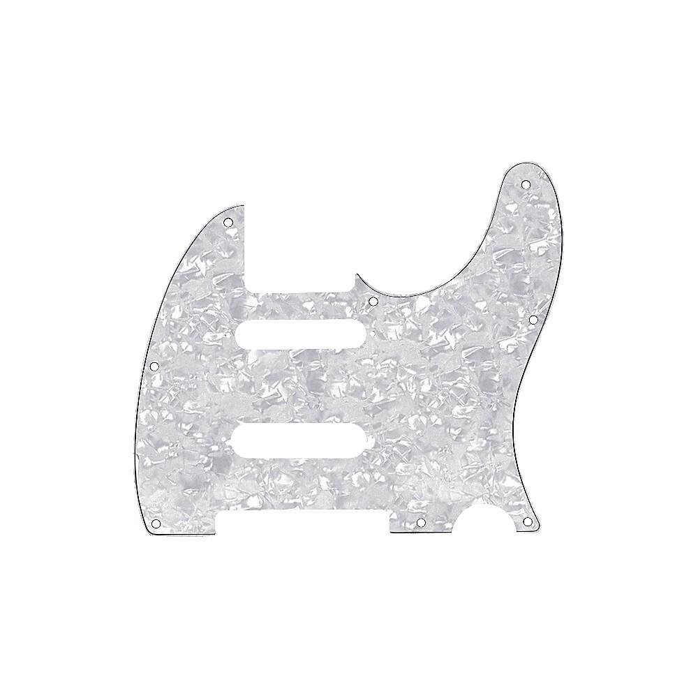 Fender Tele Pickguard For B Bender White Pearl 1273888004070