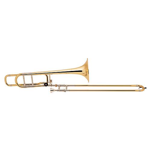 Bach 36BO Stradivarius Series Trombone Lacquer Gold Brass Bell Standard Slide