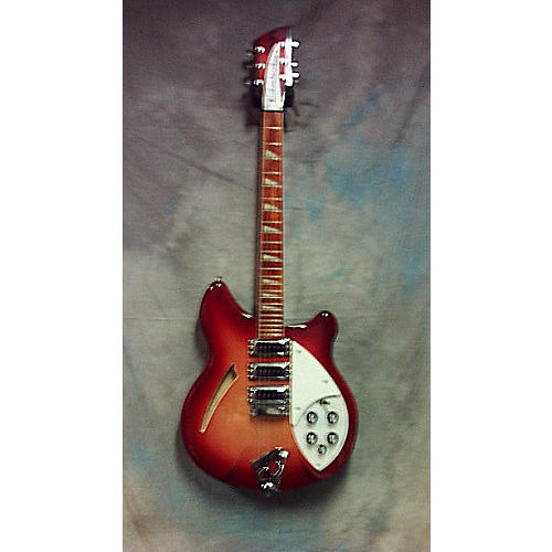 Rickenbacker 370 Hollow Body Electric Guitar Fireglo