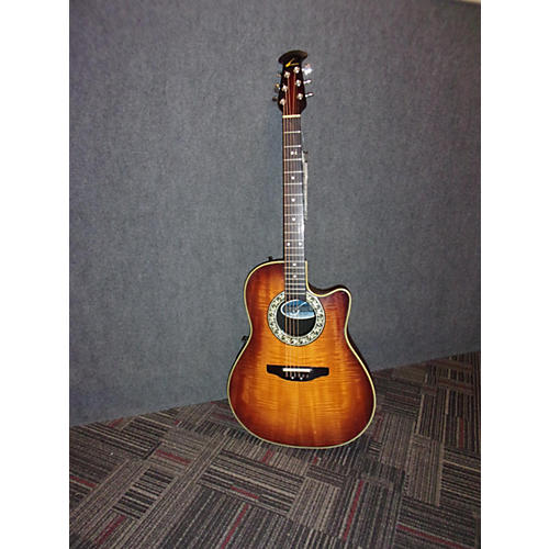 Ovation 386T Acoustic Electric Guitar