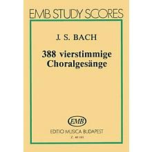 Editio Musica Budapest 388 Four-part Chorals