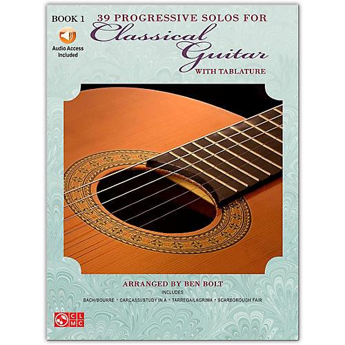 Cherry Lane 39 Progressive Solos for Classical Guitar 1 Book/CD-thumbnail