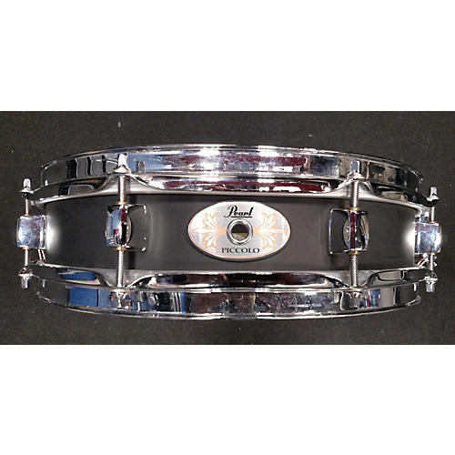 Pearl 3X13 BLACK STEEL PICCOLO Drum-thumbnail