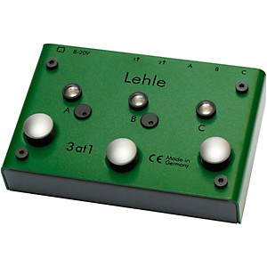 Lehle 3at1 SGoS Switcher Guitar Pedal by Lehle