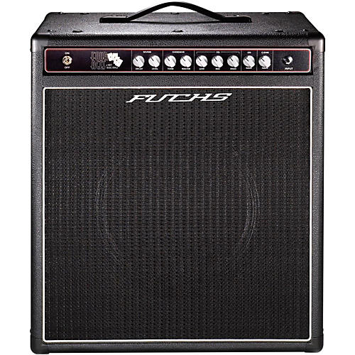 Fuchs 4 Aces 1x12 4W Tube Guitar Combo Amp and 4-Button Artist Footswitch Kit