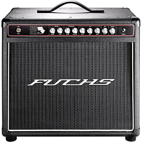 Fuchs 4 Aces 4W Tube Guitar Combo Mini-Amp and 4-Button Artist Footswitch Kit
