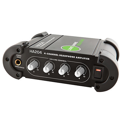 Livewire 4-Channel Headphone Amplifier Black