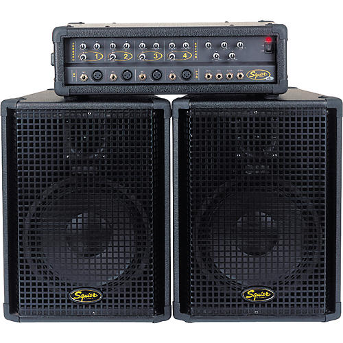 Squier 4-Channel PA System