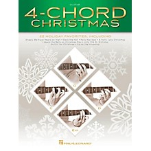 Hal Leonard 4-Chord Christmas (G-C-D-Em) Guitar Songbook