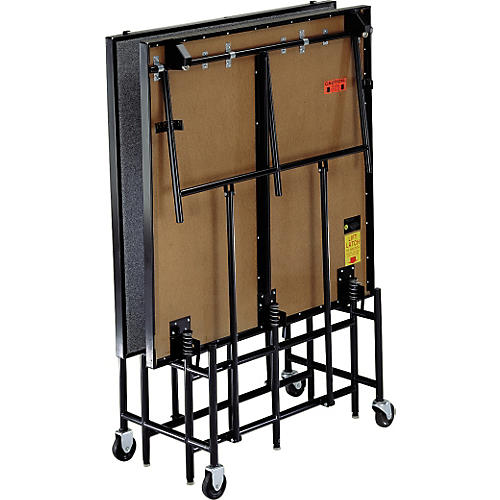Midwest Folding Products 4' Deep x 8' Wide Mobile Stage-thumbnail