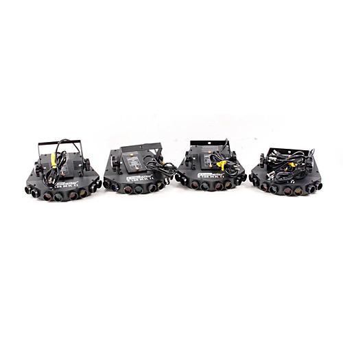 Eliminator Lighting 4-Head Tracker Light Effects System