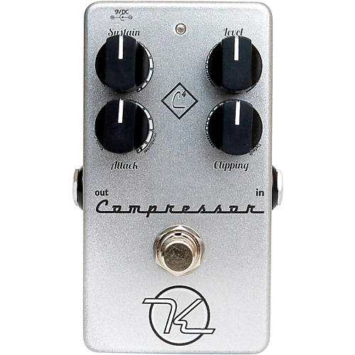 Keeley 4-Knob Compressor Guitar Effects Pedal-thumbnail