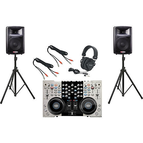 Hercules 4-Mx / Harbinger APS12 DJ Package