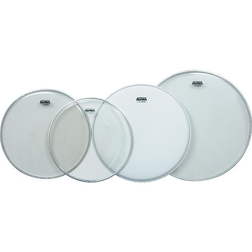 Attack 4-Pack Drumheads