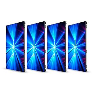 CHAUVET DJ 4 Pack of Vivid 4 Modular Video Panels with Road Case by CHAUVET DJ