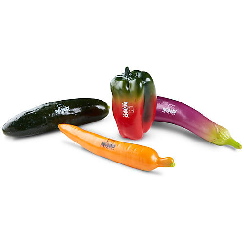 Nino 4-Piece Botany Shaker Vegetable Assortment