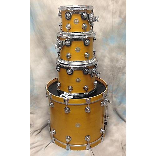 DW 4 Piece Collector's Series Natural Satin Drum Kit