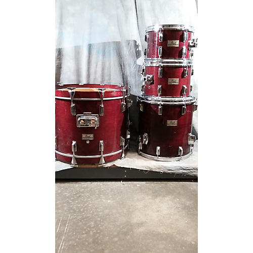 Pearl 4 Piece DLX Drum Kit-thumbnail