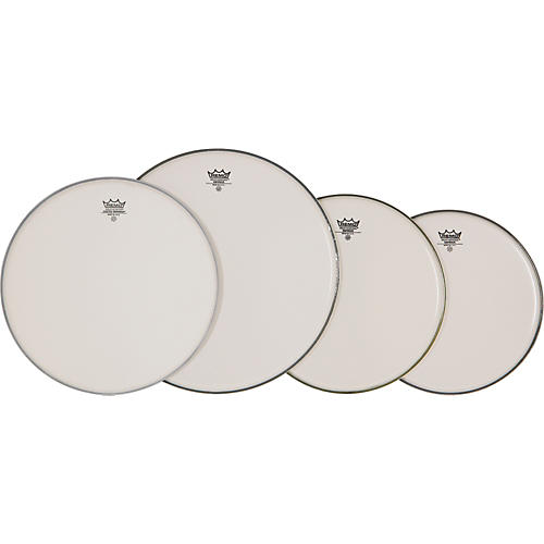 Remo 4-Piece Emperor Smooth White Batter Head Pre-pack  Standard
