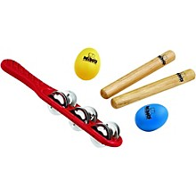 Nino 4-Piece Hand Percussion Rhythm Set