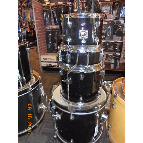 In Store Used 4 Piece SP2BK Drum Kit-thumbnail