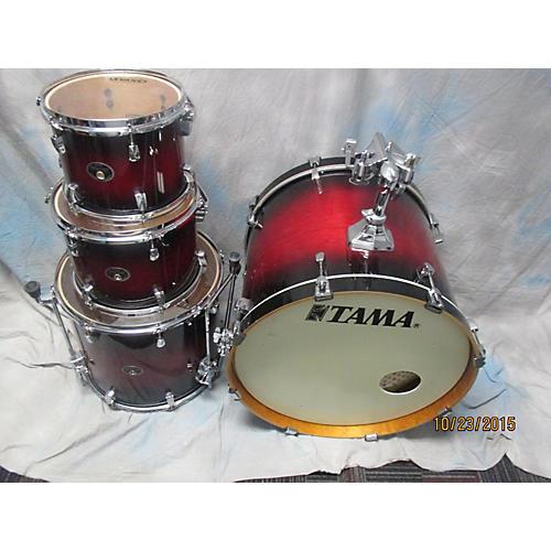 Tama 4 Piece Silverstar Drum Kit
