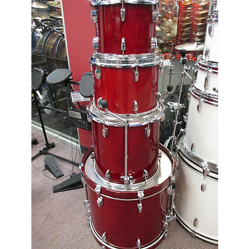 Yamaha 4 Piece Stage Custom Drum Kit