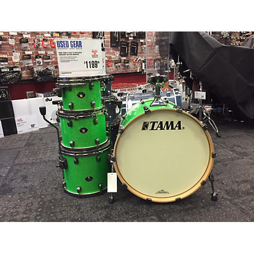 Tama 4 Piece Starclassic Limelight Glitter Drum Kit-thumbnail