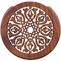 "The Lute Hole Company 4"" Soundhole Covers for Feedback Control in Maple or Walnut Maple Moderate"