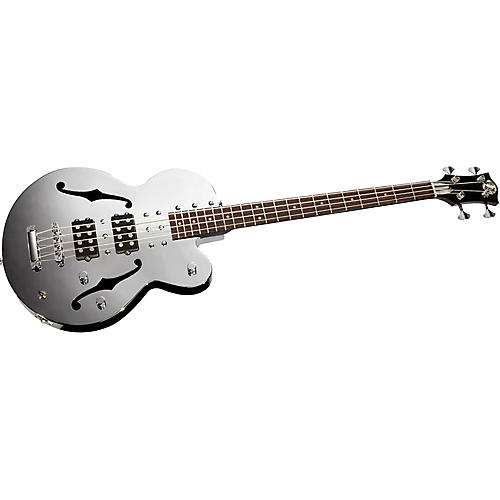 Normandy 4-String Archtop Electric Bass Guitar-thumbnail