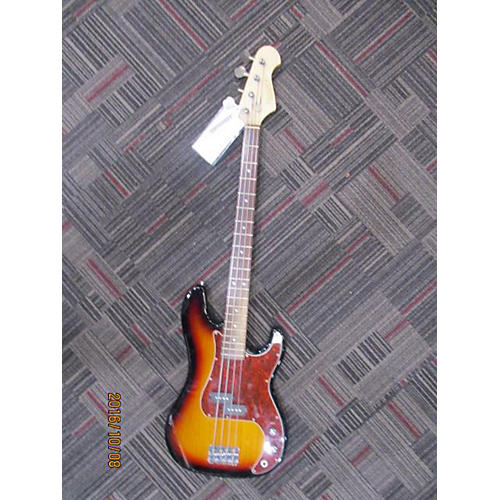 Xaviere 4 String Bass Electric Bass Guitar 2 Color Sunburst
