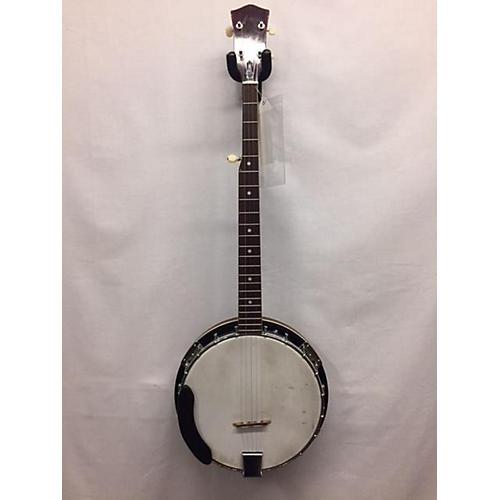 Miscellaneous 4 String Closed Back Banjo