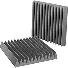 "Auralex 4"" Studiofoam Wedge 2'x2'x4"" panels (6 pack) Level 1 Charcoal 4"""