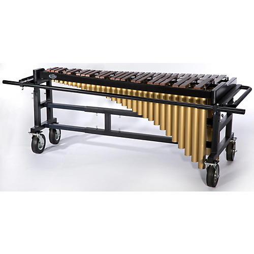 Tama Marching 4.3 Octave Marimba with Field Cart and Honduras Rosewood Bars-thumbnail